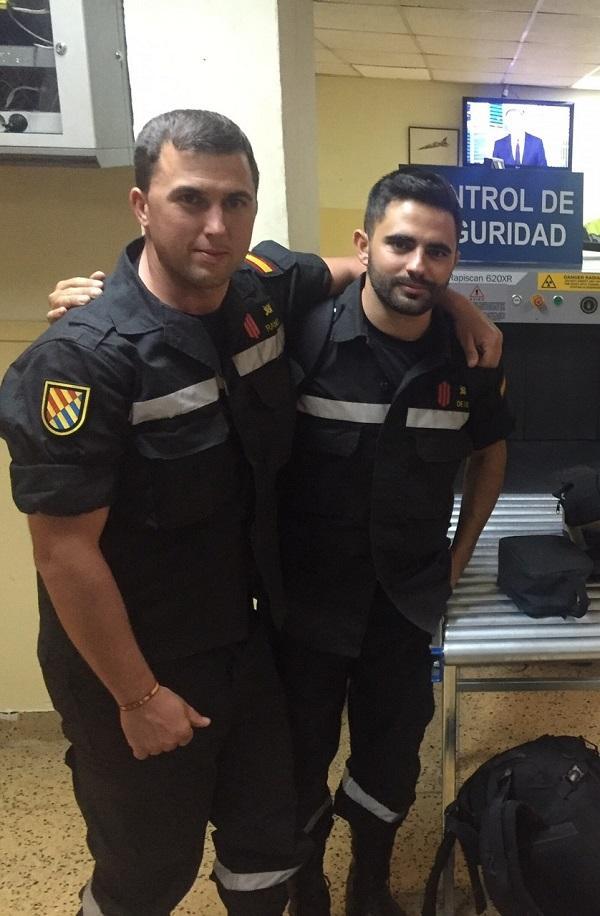 Marcos Ramón (izquierda) y Andrés de Lis.