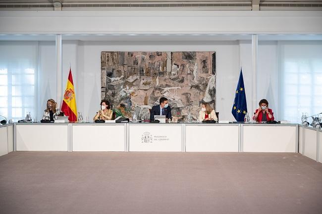 Reunión del Consejo de Ministros.
