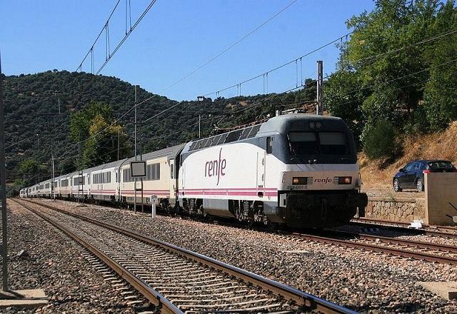 Tren diurno García Lorca.