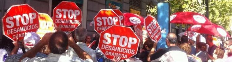 Movilización de Stop Desahucios 15M Granada