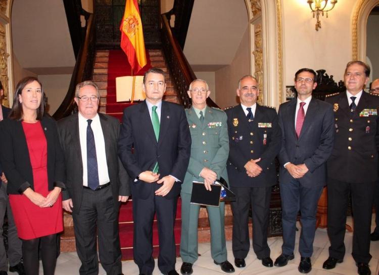 Antonio Sanz ha presidido el acto de conmemoración de la Constitución.