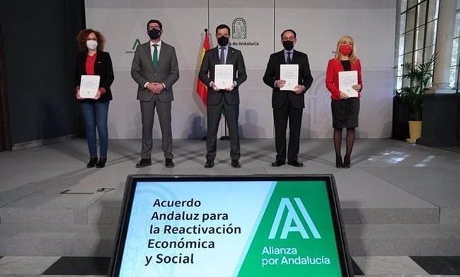 Firma el lunes del segundo plan de rescate andaluz.