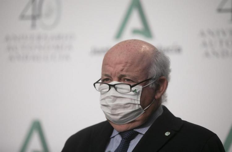 Jesús Aguirre, en rueda de prensa el pasado martes.