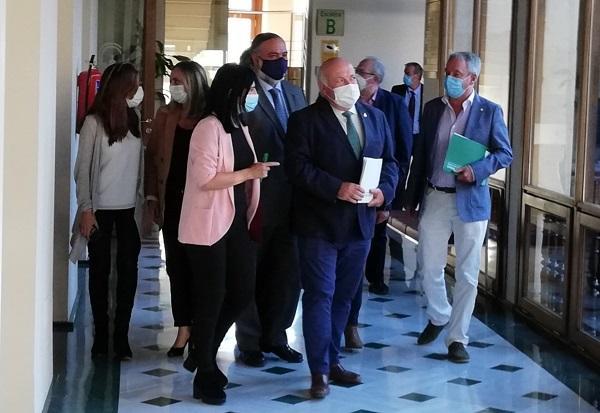 El consejero de Salud y Familias, Jesús Aguirre, el pasado viernes en Granada.