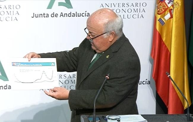 Aguirre, este martes en la comparecencia tras el Consejo de Gobierno.