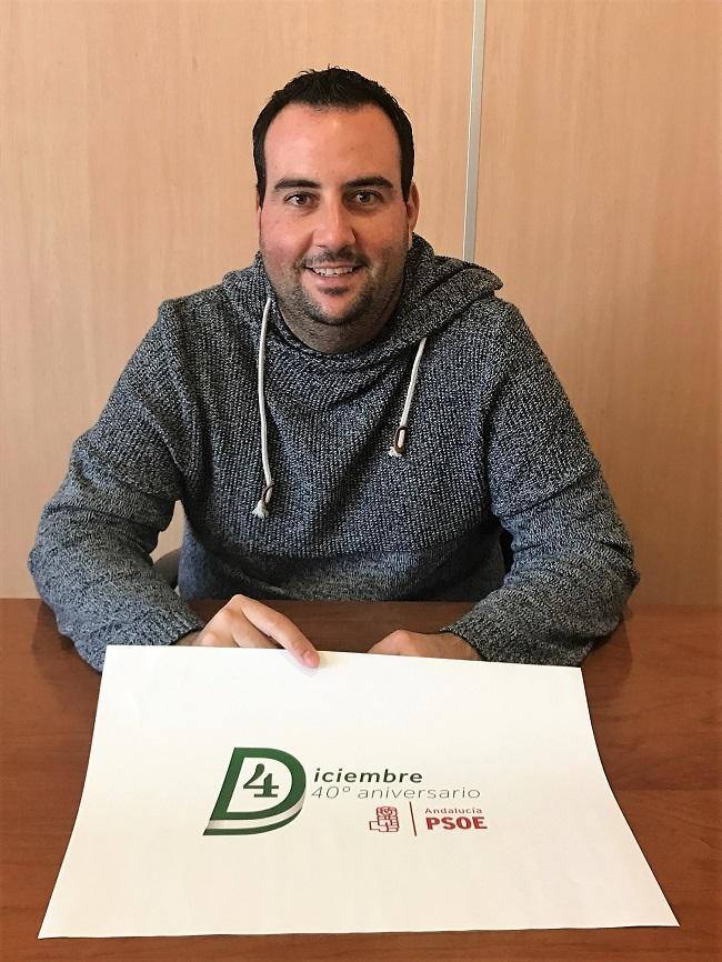 Alex Casares, secretario de Organización del PSOE de Granada.