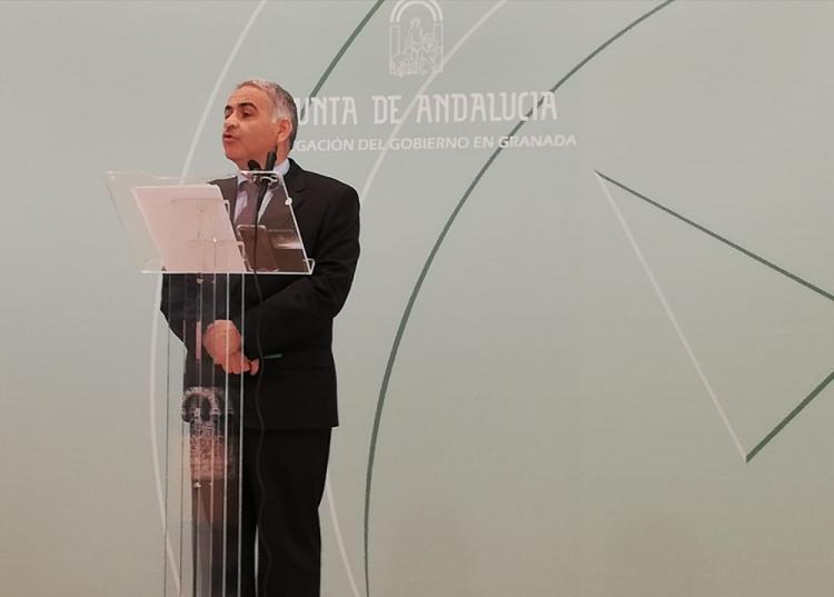 Antonio Jesús Castillo en una de sus últimas ruedas de prensa.