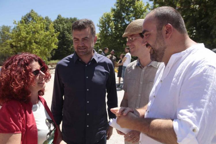 Molina, Maíllo, Puentedura, Morales y Puentedura, en la reciente campaña.