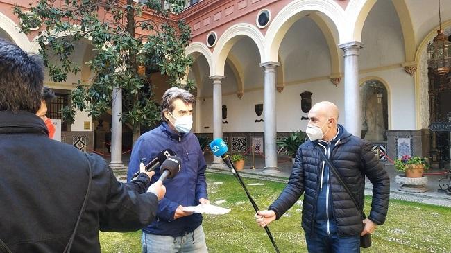 Antonio Cambril, en rueda de prensa.