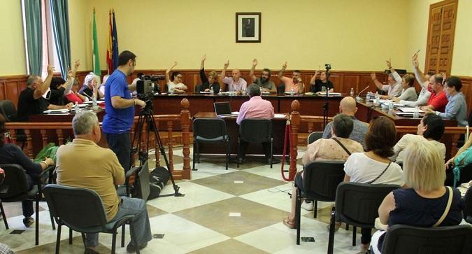 Votación en el pleno de Atarfe para pedir que llegue el Metro.