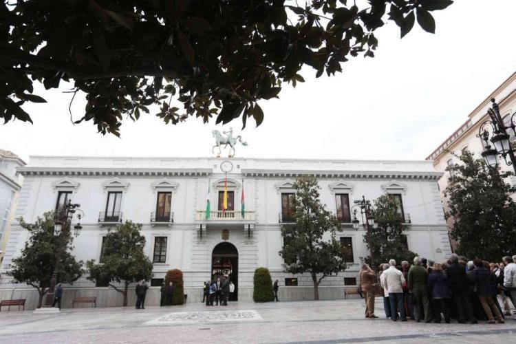 Imagen del Ayuntamiento de la capital, pendiente de pactos.