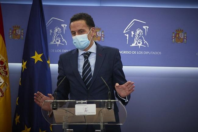 El portavoz adjunto de Ciudadanos en el Congreso de los Diputados, Edmundo Bal,