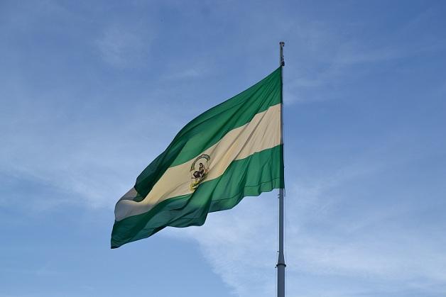 Bandera de Andalucía.
