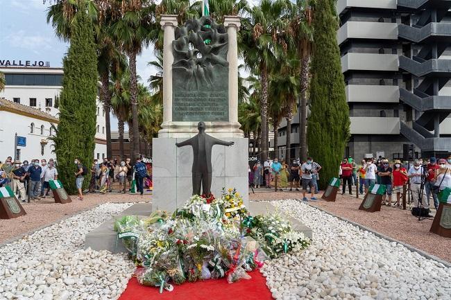 Acto en recuerdo del asesinato de Blas Infante.