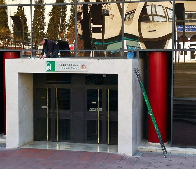 Imagen de archivo del edificio judicial de La Caleta.