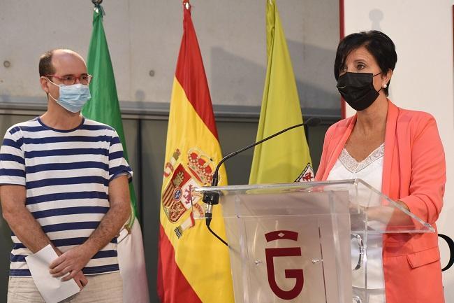 Mercedes Garzón y Raúl González.