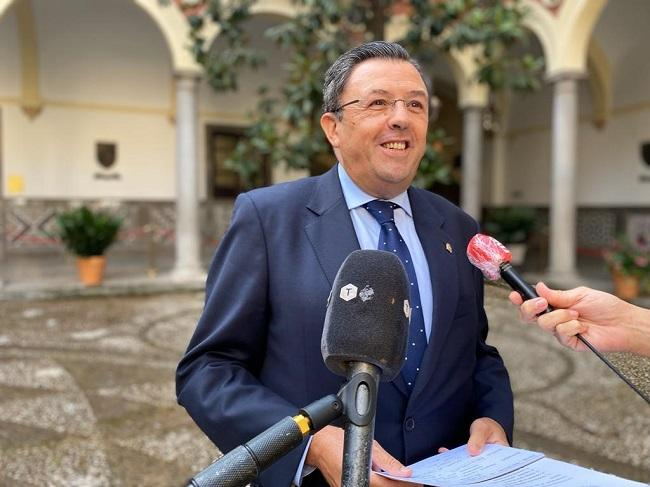 El concejal del PP Carlos Ruiz Cosano.