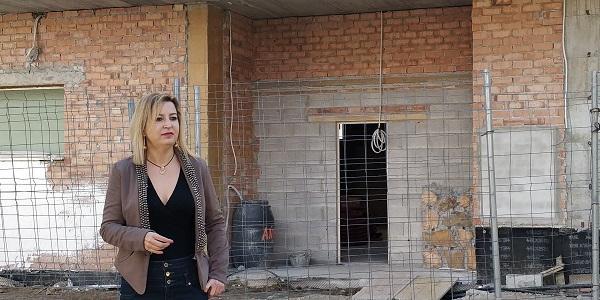 Carmen Lizárraga en el centro de salud de Bola de Oro.