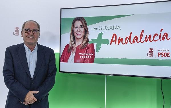 Juan Cornejo, este miércoles, en la presentación de la campaña.