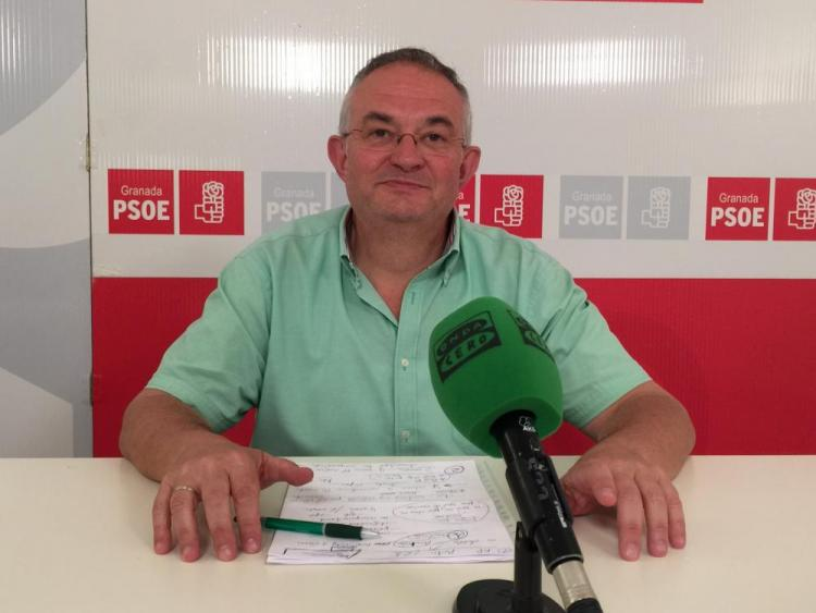 El secretario general del PSOE de la capital, Chema Rueda.
