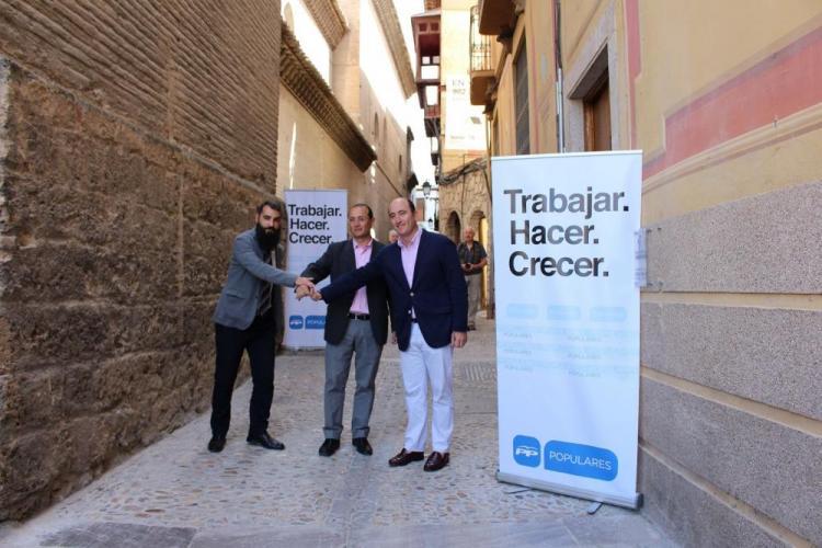 García Montero, Egea y Tejada.