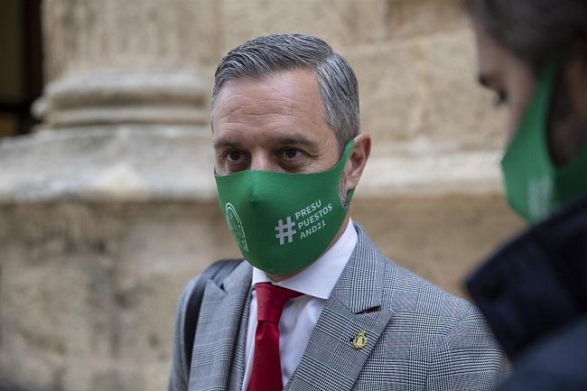 Juan Bravo, consejero de Hacienda y Financiación Europea.