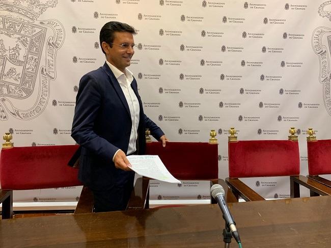 Francisco Cuenca, portavoz municipal de los socialistas.