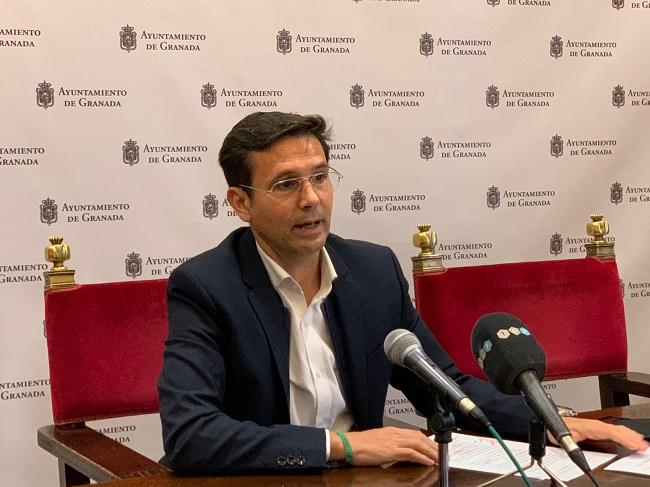 Francisco Cuenca en rueda de prensa.