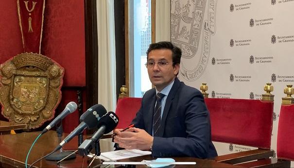 Francisco Cuenca, este martes en rueda de prensa.
