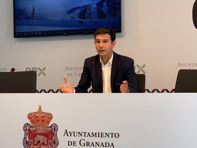 Francisco Cuenca, este miércoles en rueda de prensa.