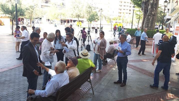 Cuenca, en la Plaza del Campillo.