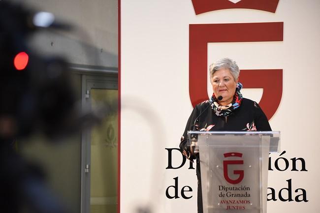 La diputada de Asistencia a Municipios, María Ángeles Blanco.