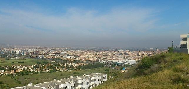 Vista de Granada desde los Rebites.