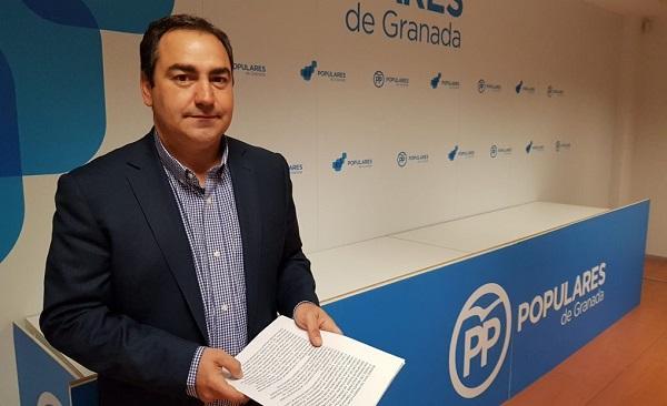 Eduardo Martos, diputado provincial.