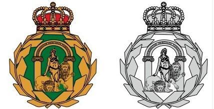 Nuevo diseño del escudo que utilizará el presidente de la Junta.