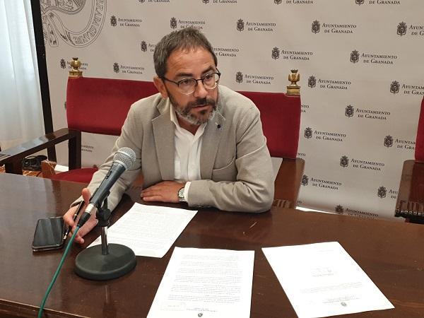 El concejal socialista Miguel Ángel Fernández Madrid.