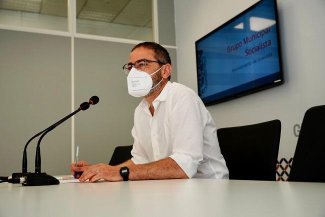 Fernández Madrid, este viernes en rueda de prensa.