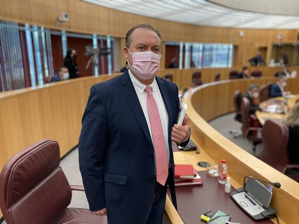 Fernando Pérez, diputado provincial del PP.