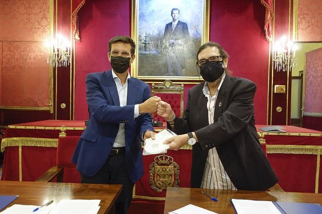 Francisco Cuenca y Manuel González Fustegueras.