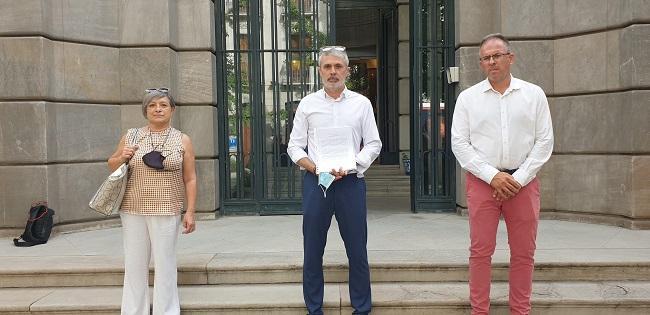 El alcalde de Órgiva y dos ediles ante la Fiscalía.
