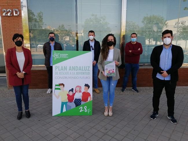 Juventudes Socialistas de Andalucía (JSA) ha presentado hoy en Granada el Plan Andaluz de Rescate a la Juventud.
