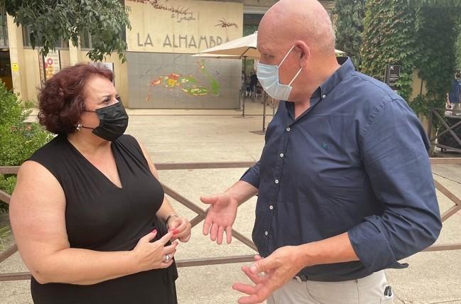 Teresa Jiménez y Gerardo Sánchez.