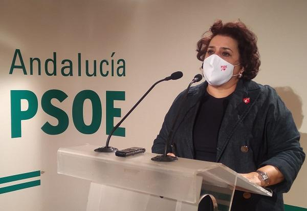 Teresa Jiménez, en rueda de prensa.