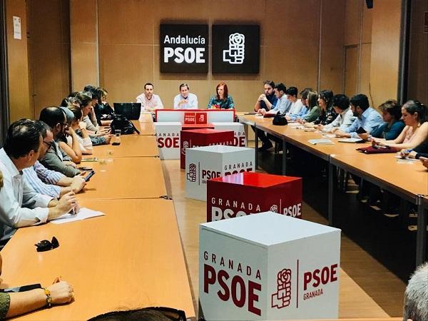 Ejecutiva Provincial del PSOE.