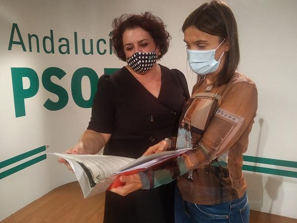 Teresa Jiménez y Olga Manzano.