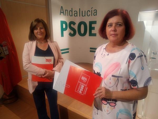 María José Sánchez y Elvira Ramón.