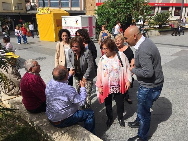 Sandra García ha visitado Motril.