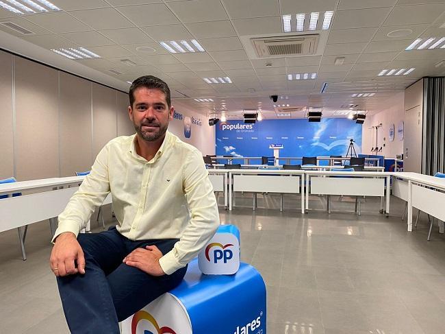 Joaquín Ordóñez, diputado provincial del PP.