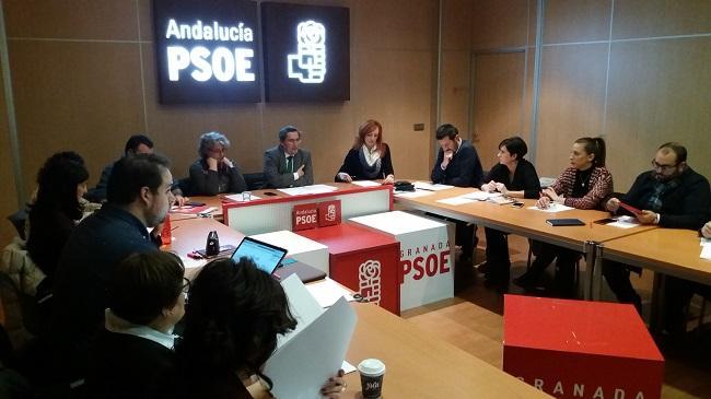 Reunión de la dirección provincial del PSOE.