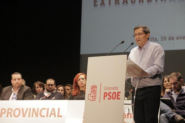 Imagen de archivo de un comité provincial del PSOE.